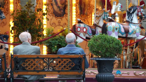 Carousel In Florence (4 Of 5) stock footage