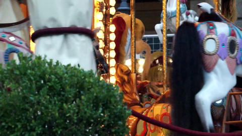 Carousel In Florence (5 Of 5) stock footage