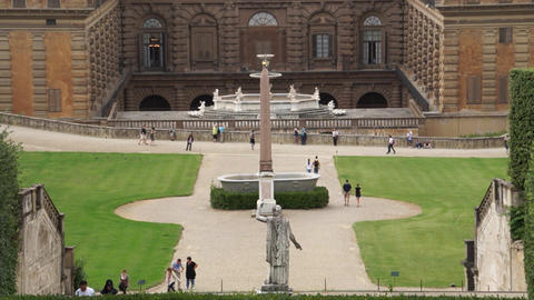 Pitti Palace In Florence stock footage