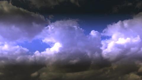 Beautiful Dark Cloud Motion HD Stock Video Footage