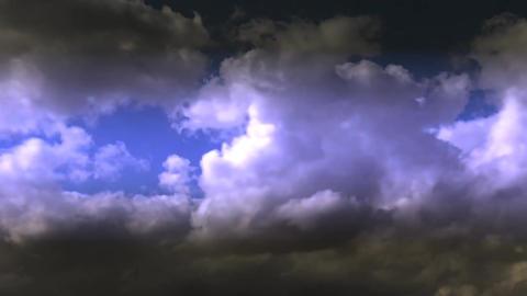 Beautiful Dark Cloud Motion HD stock footage