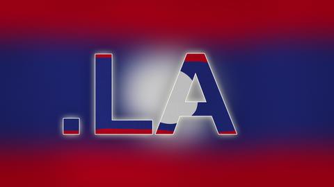 4K LA - Internet Domain of Laos Footage
