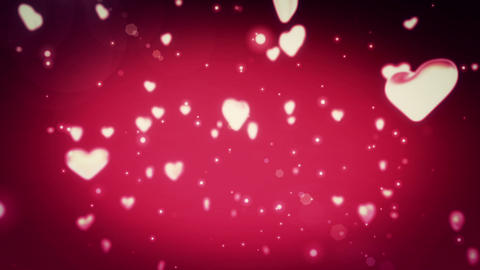 Heart Back Ground stock footage