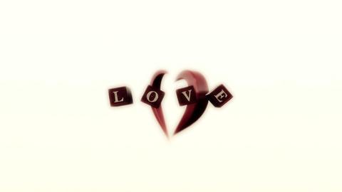 LOVE 動画素材, ムービー映像素材