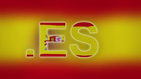 4K ES - Internet Domain of Spain Footage