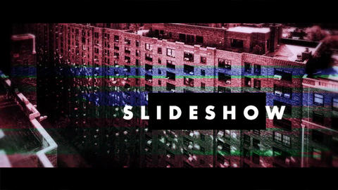 Glitch - No signal- Slideshow After Effects Template
