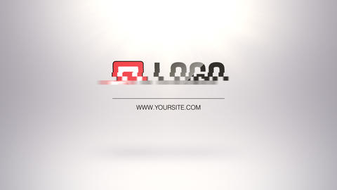 4 Flat Strips Logo Reveals After Effects Template