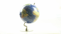 World globe spinning 3 Live Action