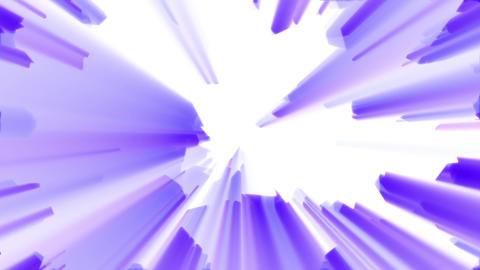 Purple Aggressive Shine Abstract Burst Background Loop 2 Animation
