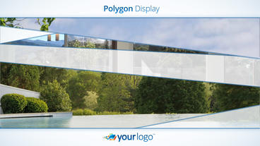 Polygon Display - Apple Motion and Final Cut Pro X Template แม่แบบ Apple Motion