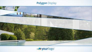 Polygon Display stock footage