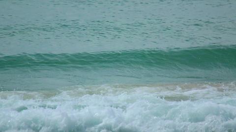 Beach waves Footage