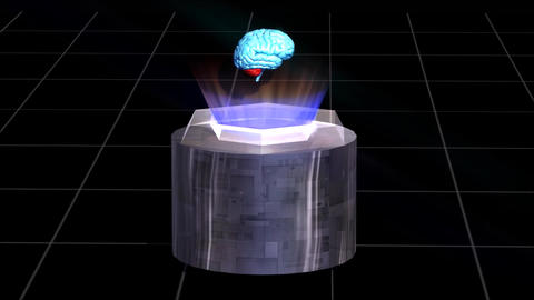 Brain Science Animation HD stock footage