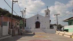 Isla Taboga Panama Central America Catholic Church In Main Square Footage