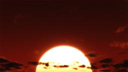Big Sunrise Time Lapse Animation