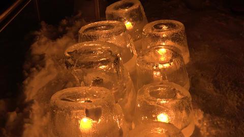 冬の灯り 6 stock footage