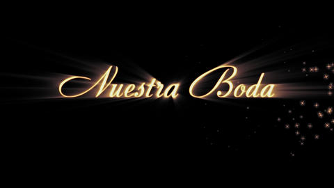 Nuestra Boda (spanish) Animation