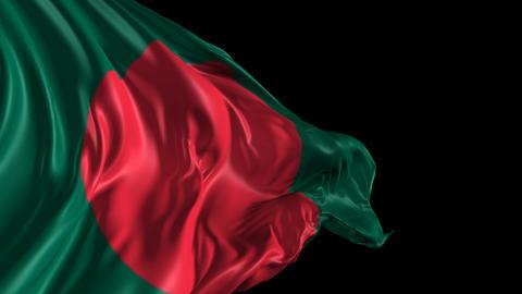 Flag of Bangladesh Animation