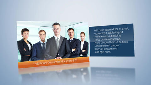 Clean Corporate Display After Effects Template