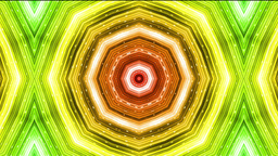 Very Colorful Kaleidoscope stock footage