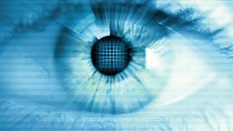 Digital Eye stock footage