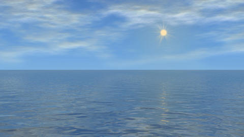 water and sky 01 Animation