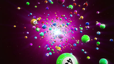 Bingo Balls Loopable Background Animation