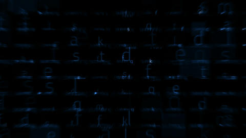 letter matrix background,alphabet,computer screen,tech,web.spelling,education,exams,school,books,art Animation