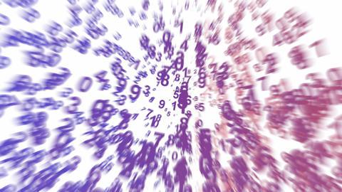 group of number,Digital Matrix,finance digital... Stock Video Footage