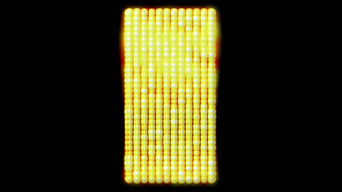 flare golden beads shaped square,sunlight,Hollywood.gold bars,Game,Led,neon lights,modern,stylish,Me Animation