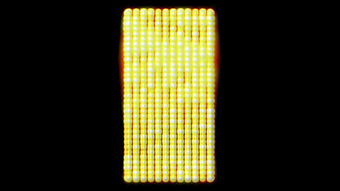 flare golden beads shaped square,sunlight,Hollywood.gold... Stock Video Footage