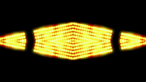 flare golden beads shaped neon light,sunlight,stage background,Hollywood,dazzling.UFO,Spaceship,logo Animation