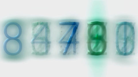 blue number,credit card figures,business... Stock Video Footage
