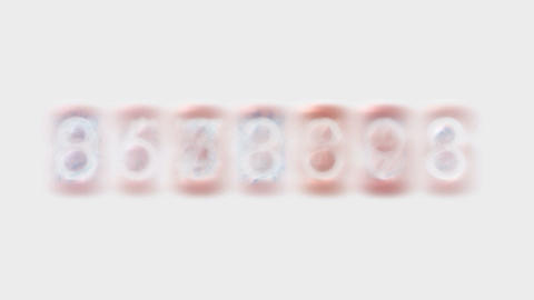 number,business digital... Stock Video Footage