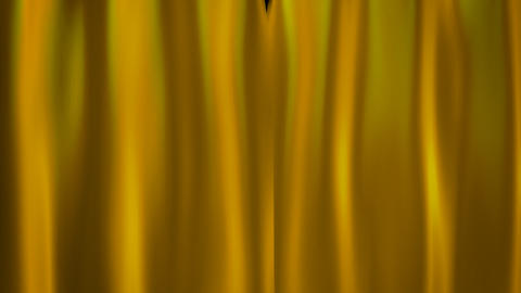 gold curtains Stock Video Footage