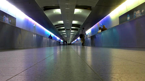 Airport Tunnel 01 Stock Video Footage