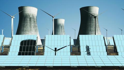 Energy Concept 01 loop Stock Video Footage