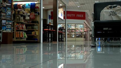 Mexico City Benito Juarez Airport Terminal 1 Stock Video Footage