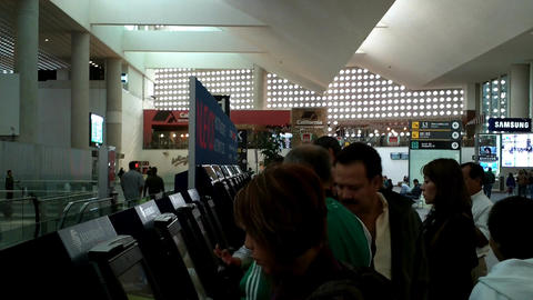 Mexico City Benito Juarez Airport Terminal 2 02 Footage