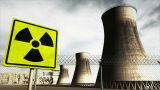 Nuclear Station Cooling Towers Timelapse V2 04 stock footage