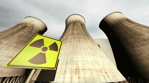 Nuclear Station Cooling Towers Timelapse v2 12 Animation