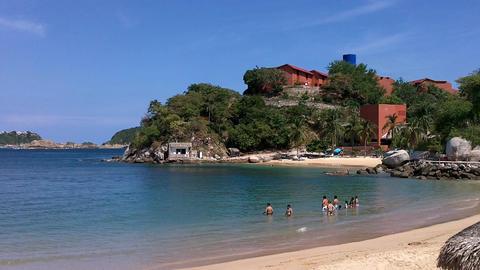 Tropical Paradise 09 hotel resort Footage