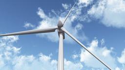 Wind Turbine 01 Stock Video Footage
