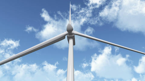 Wind Turbine 01 Animation