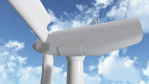 Wind Turbine 03 Stock Video Footage