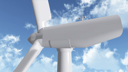 Wind Turbine 03 Stock Video Footage