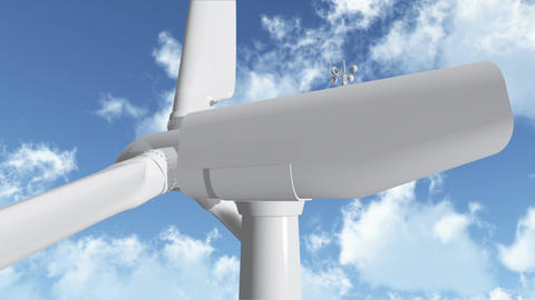 Wind Turbine 03 Animation