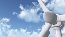 Wind Turbine 05 Stock Video Footage