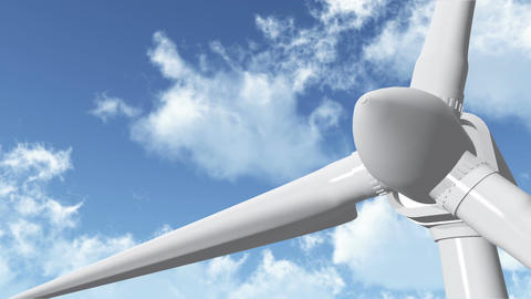 Wind Turbine 05 Animation