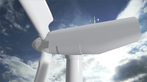 Wind Turbine Timelapse 06 Animation
